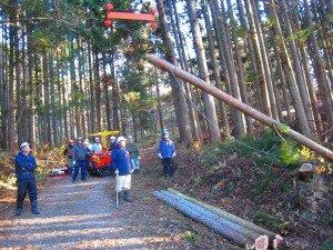 平成24年度「気仙沼 森のアカデミー」副業型自伐林家養成塾 開催日程